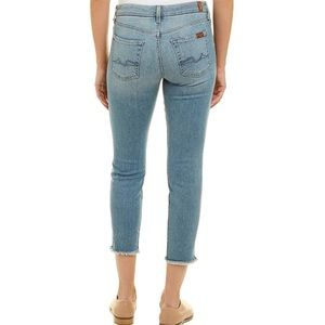 Brand New 7 for All Mankind Kimmie Crop Jeans